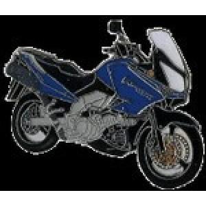 Pin (καρφίτσα) Suzuki V-Strom 1000 μπλε-μαύρο (μπρελόκ)