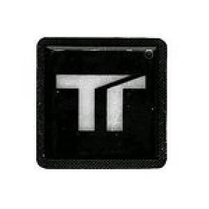 Ανακλαστικό σήμα Twalcom 50 x 50 mm μαύρο