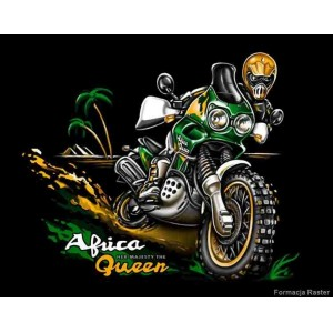 T-shirt Holan Honda Africa Twin