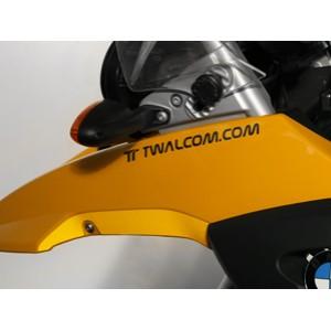 Ανακλαστικό αυτοκόλλητο Twalcom.com 170 x 17 mm. ασημί