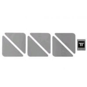 Ανακλαστικά αυτοκόλλητα Twalcom τρίγωνα ασημί σετ