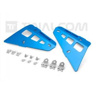 Πλαϊνά προστατευτικά καλύμματα ΟΕΜ κάγκελων BMW R 1200 Adv. LC 14- μπλε