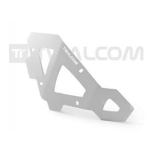Πλαϊνά προστατευτικά ντεποζίτου Twalcom KTM 950-990 Adv. ασημί