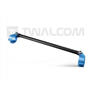 Μπαράκι τιμονιού Twalcom 28 εκ. μαύρο - μπλε