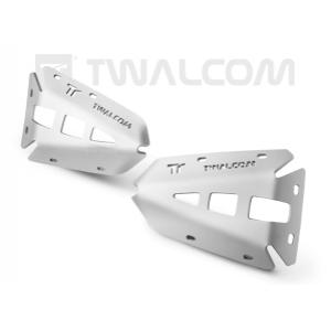 Προστατευτικά κυλίνδρων Twalcom για OEM κάγκελα BMW R 1200 GS/Adv. LC 13- ασημί