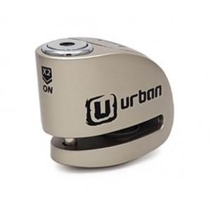 Κλειδαριά δισκόφρενου με συναγερμό Urban Security UR906M 6χιλ. ασημί
