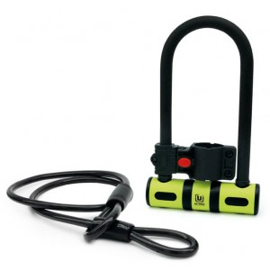 Πέταλο Urban Security UR80150Β με καλώδιο κλειδώματος