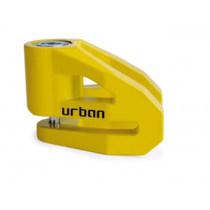 Κλειδαριά δισκόφρενου Urban Security UR206Y 6 χιλ. κίτρινη