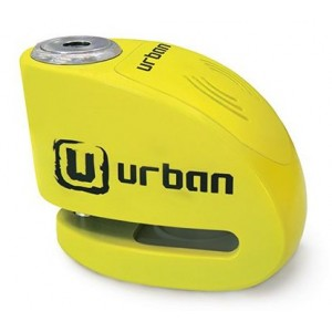 Κλειδαριά δισκόφρενου με συναγερμό Urban Security UR906Y 6χιλ. κίτρινη