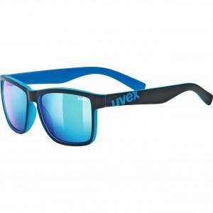 Γυαλιά UVEX lgl 39 μαύρα-μπλε ματ