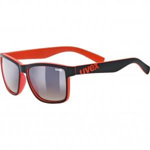 Γυαλιά UVEX lgl 39 μαύρα-κόκκινα ματ