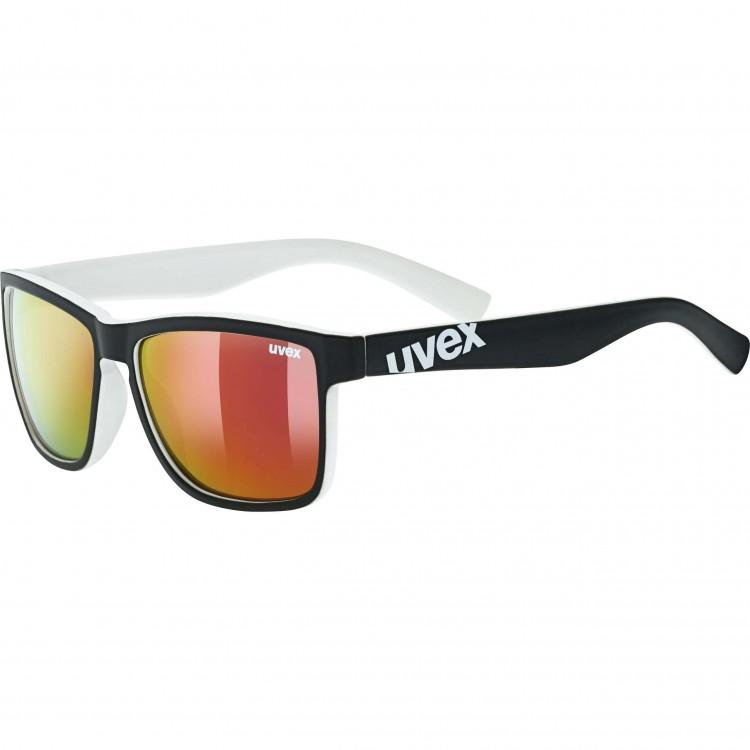 Γυαλιά UVEX lgl 39 μαύρα-λευκά ματ