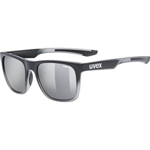 Γυαλιά UVEX lgl 42 μαύρα-διάφανα