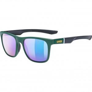 Γυαλιά UVEX lgl 42 πράσινα-μαύρα ματ