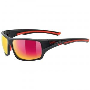 Γυαλιά UVEX Sportstyle 222 μαύρα-κόκκινα