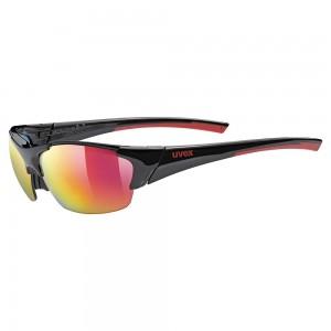 Γυαλιά UVEX Blaze III μαύρα-κόκκινα