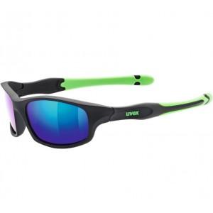 Γυαλιά UVEX Sportstyle 507 μαύρα ματ - πράσινα παιδικά