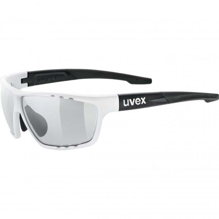 Γυαλιά UVEX Variomatic Sportstyle 706 V λευκά-μαύρα ματ