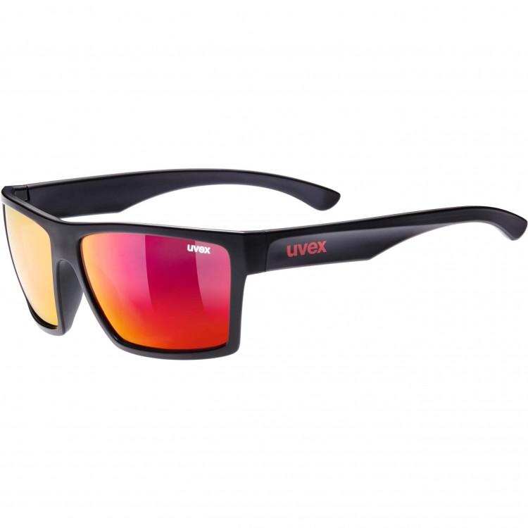Γυαλιά UVEX lgl 29 μαύρα ματ-κόκκινα
