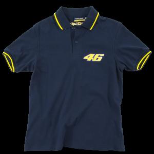 Polo T-shirt Valentino Rossi μπλε