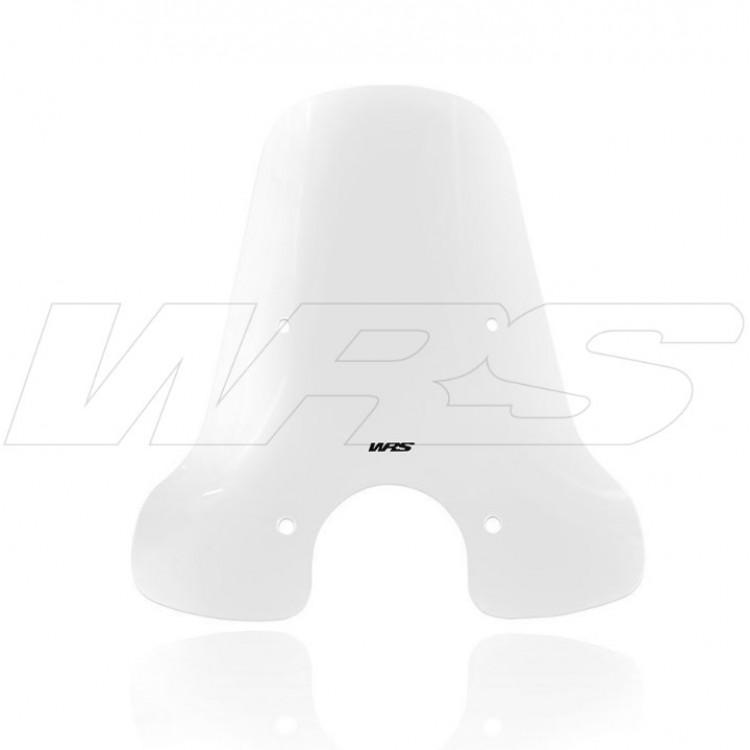 Ζελατίνα WRS Touring ψηλή Piaggio Vespa GTS 300 14-19 διάφανη