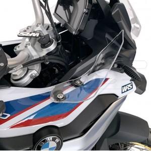 Πλαϊνά βοηθήματα αέρα WRS BMW F 750 GS -20 διάφανα