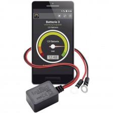 Βολτόμετρο ελέγχου μπαταρίας intAct μέσω Smartphone