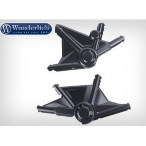"""Προστατευτικά καλύμματα πλαισίου Wunderlich """"SPIDER"""" BMW R 1250 GS/Adv. μαύρα (σετ)"""