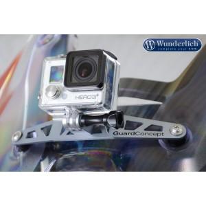 Βάση στήριξης Action κάμερας BMW R 1250 RS ασημί