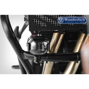 Προβολάκια Micro Flooter LED με βάσεις για κάγκελα Ducati Multistrada 950-1200 Enduro μαύρα