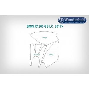 Διάφανο φίλμ προστασίας Wunderlich BMW R 1200 GS LC 17- (μικρό σετ)