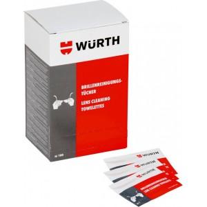 Υγρό πανάκι καθαρισμού γυαλιών Wurth (1 τεμ.)
