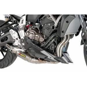 Engine Spoiler Puig Yamaha MT-07 black matt