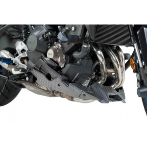 Καρίνα Puig Yamaha MT-09 carbon look (για εξάτμιση Akrapovic)