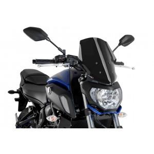 Ζελατίνα PUIG New Generation Naked Touring Yamaha MT-07 18- μαύρη