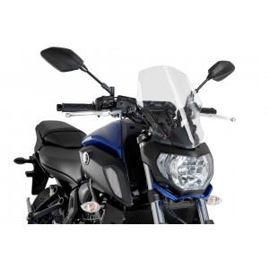 Ζελατίνα PUIG New Generation Naked Touring Yamaha MT-07 18- διάφανη