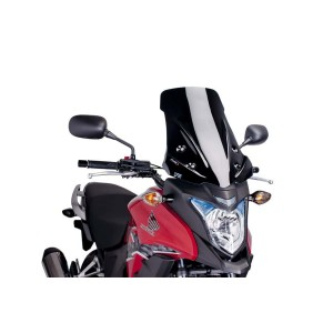 Ζελατίνα Puig Touring Honda CB 500 X 13-15 μαύρη