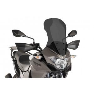 Ζελατίνα Puig Touring Kawasaki Versys X-300 σκούρο φιμέ