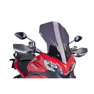 Ζελατίνα Puig Touring Ducati Multistrada 1200/S 13-14 σκούρο φιμέ