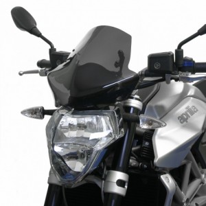 Ζελατίνα Puig Naked New Generation Aprilia Shiver 750 08-09 σκούρο φιμέ