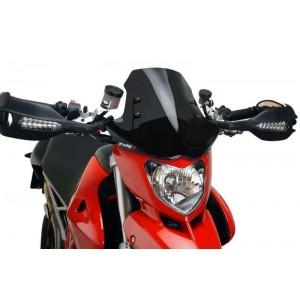 Ζελατίνα Puig Naked New Generation Ducati Hypermotard 796/1100/S μαύρη