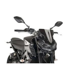 Ζελατίνα PUIG Naked New Generation Sport Yamaha MT-09 17- μαύρη