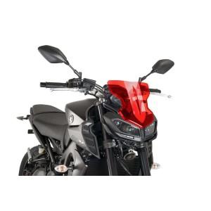 Ζελατίνα PUIG Naked New Generation Sport Yamaha MT-09 17- κόκκινη