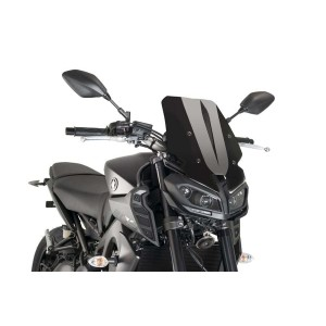 Ζελατίνα PUIG Naked New Generation Touring Yamaha MT-09 17- μαύρη