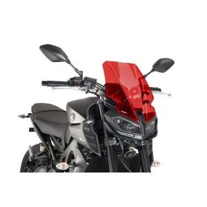 Ζελατίνα PUIG Naked New Generation Touring Yamaha MT-09 17- κόκκινη