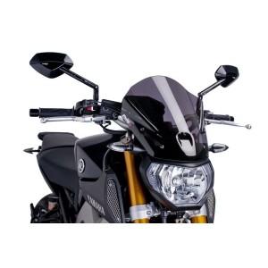 Ζελατίνα PUIG Naked New Generation Touring Yamaha MT-09 -16 σκούρο φιμέ