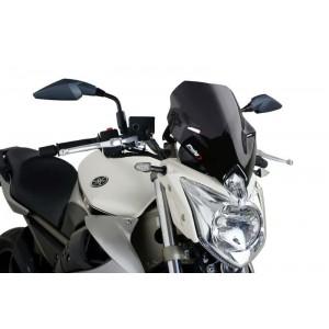 Ζελατίνα Puig Naked New Generation Sport Yamaha XJ6 μαύρη