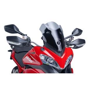 Ζελατίνα Puig Racing Ducati Multistrada 1200/S -12 σκούρο φιμέ