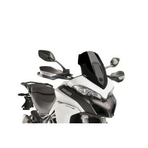 Ζελατίνα Puig Racing Ducati Multistrada 950/1200 Enduro μαύρη