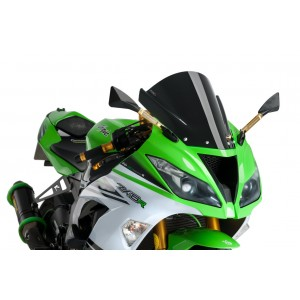 Ζελατίνα Puig Racing Kawasaki ZX-6R 09-16 μαύρη